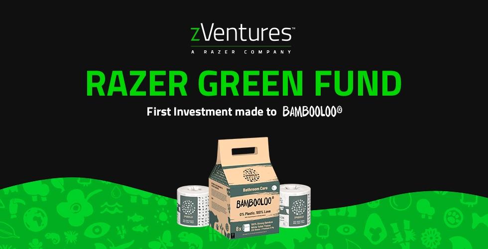 Razer Establishes USD $50 Million 'Razer Green Fund' to Support Sustainability Startups